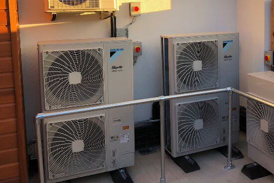 Installation of outdoor AC units